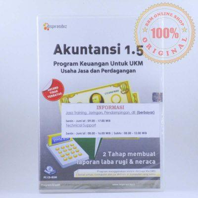 Software Akuntansi 1.5 – Program Keuangan Untuk UKM (Usaha Jasa Dan Perdagangan)